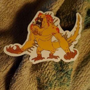 Disease sticker